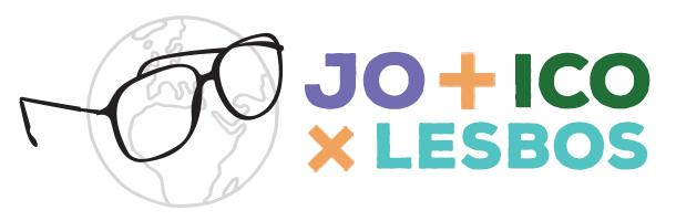 Jo amb ICO per Lesbos