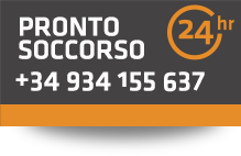 Pronto Soccorso 24h 365 giorni +34 934155637