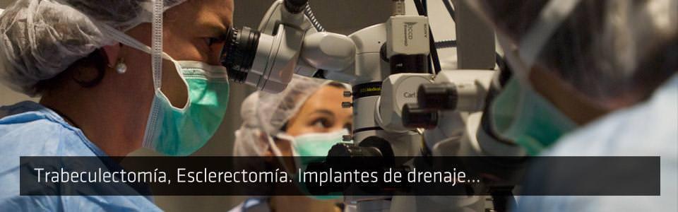 ICOftalmología - Tratamientos - Cirugía Glaucoma