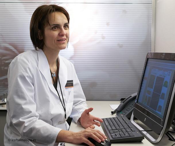 Dra. Carme Macià - ICOftalmologia