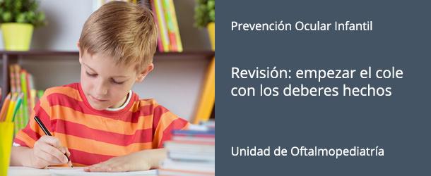 Revisió ocular infantil - IO·ICO Barcelona