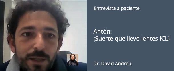 Paciente de ICL - Antón - IO·ICO Barcelona