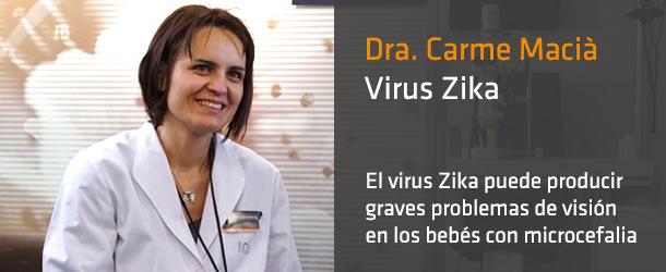 Dra. Carme Macia - Virus Zika - Innova Ocular ICO Barcelona