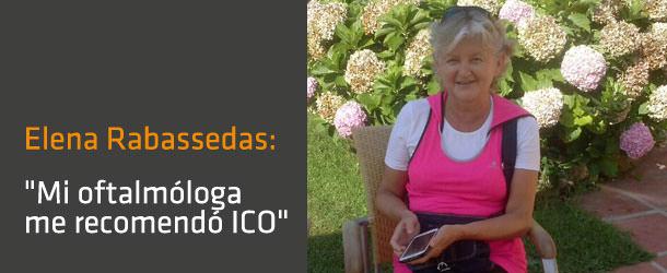 Elena Rabassedas - ICOftalmología