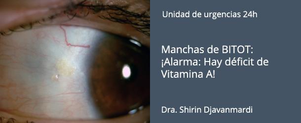Manchas de BITOT - Vitamina A - IO·ICO Barcelona