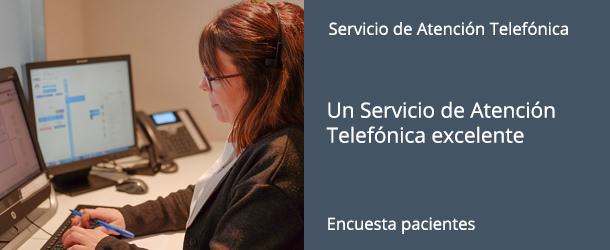 Encuesta Servicio Atención Telefónica - IO·ICO Barcelona