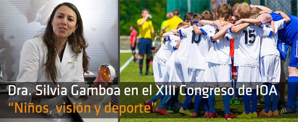Niños, visión y deporte - Dra. Gamboa - IO ICO Barcelona
