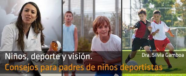 Niños deporte y visión - IO·ICO Barcelona