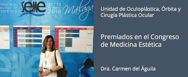 Dra. Carmen Del Águila - Congreso Nacional de la Sociedad Española de Medicina Estética 2018