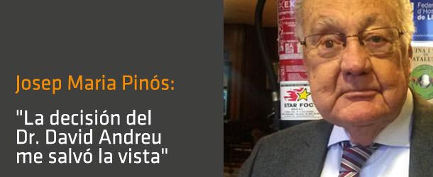 Entrevista Sr. Josep Maria Pinós - Dr. Andreu - ICOftalmología