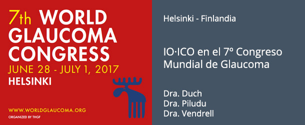 World Glaucoma Congress 2017 - IO·ICO Barcelona