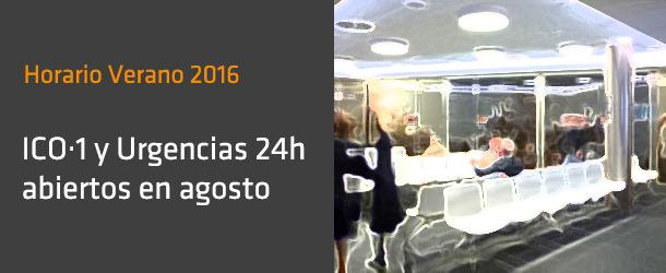 Horarios Agosto 2016 - IO ICO Barcelona
