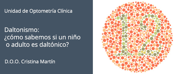 Daltonismo: ¿cómo sabemos si un niño o adulto es daltónico? - IO·ICO Barcelona