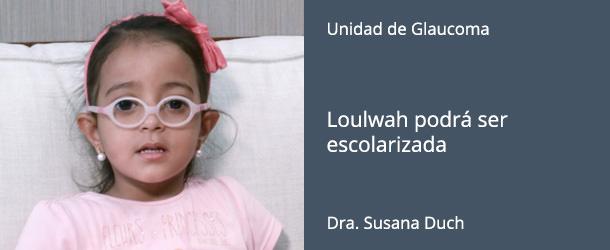Loulwah podrá ser escolarizada - IO·ICO Barcelona