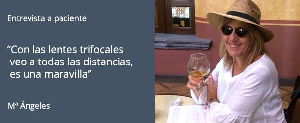 Entevista a Mª Ángeles - Lentes trifocales - IO·ICO Barcelona