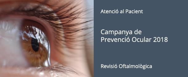 Campanya de Prevenció Ocular 2018 - IO·ICOftalmogia Barcelona