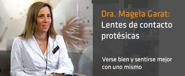 Dra. Magela Garat - Lentes de contacto protésicas - ICOftalmología