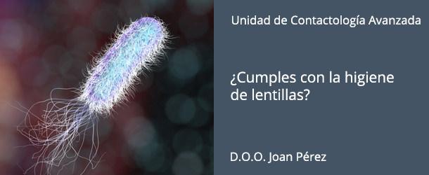 Lentillas - Pseudomonas - IO·ICO Barcelona