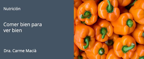 Alimentación y Salud Visual - IO·ICO Barcelona