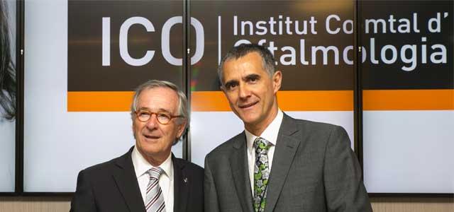 Sr. Xavier Trias y Dr. David Andreu - ICOftalmologia