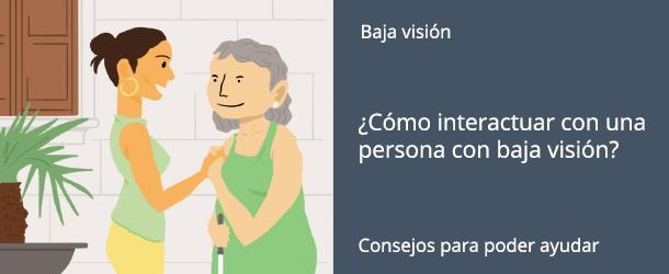 Interactuar con baja visión - IO·ICO Barcelona