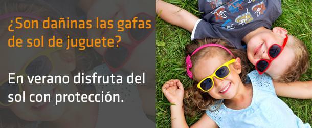 ¿Son dañinas las gafas de sol de juguete? - IO ICO Barcelona