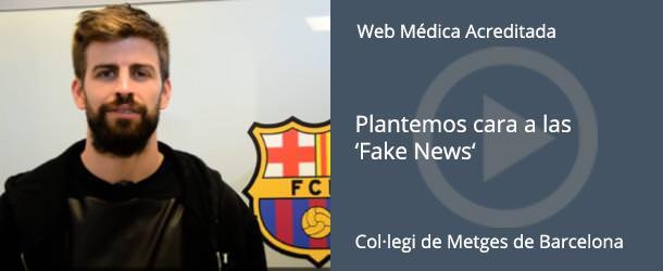 Fake News - Gerard Piqué - COMB - IO·ICO Barcelona