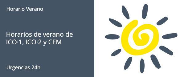 Horario de Verano - IO·ICO Barcelona