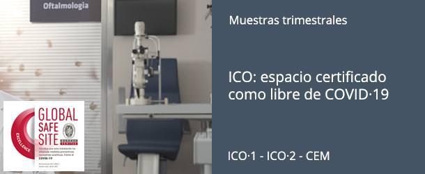 ICO: espacio certificado como libre de COVID·19