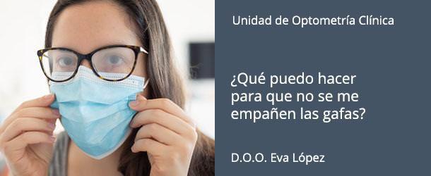 ¿Qué puedo hacer para que no se me empañen las gafas? - IO·ICO Barcelona