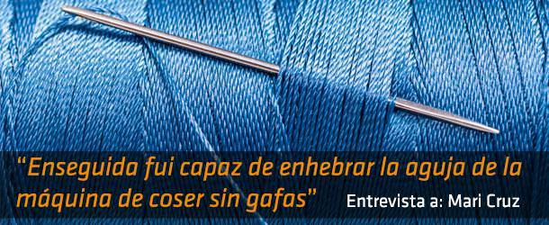 Coser sin gafas - Innova Ocular ICO Barcelona