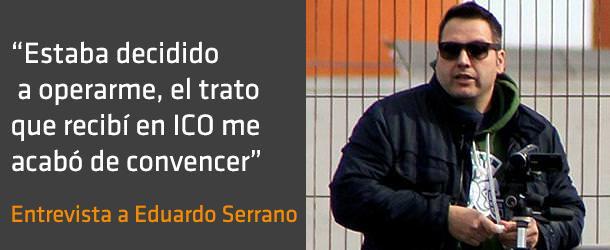 Entrevista a Eduardo Serano - Eliminar miopía - ICOftalmología