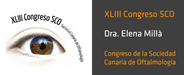 Dra. Elena Millà - Congreso de la Sociedad Canaria de Oftalmología