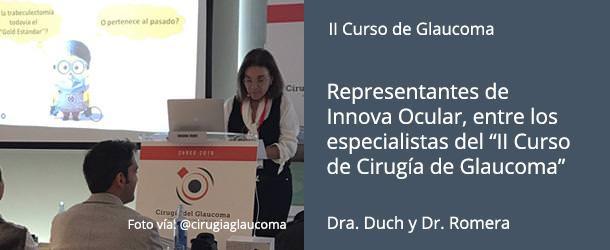 II Curso Cirugía del Glaucoma - Innova Ocular ICO Barcelona