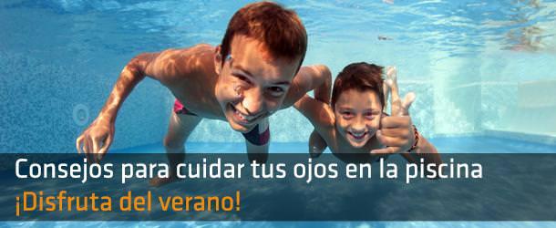 Consejos para cuidar tus ojos en la piscina - IO ICO Barcelona