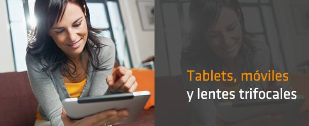 Tablets, móviles y lentes trifocales - IO ICO Barcelona
