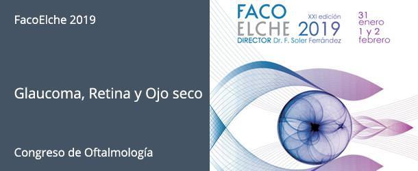 FacoElche 2019 - Glaucoma, Retina y Ojos seco - IO·ICO Barcelona